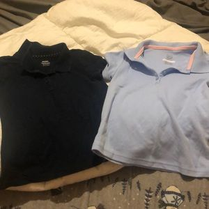 GIRLS UNIFORM SHIRT BUNDLE • size SM